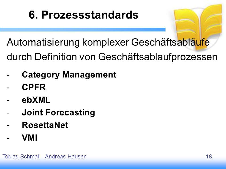 6. Prozessstandards Automatisierung komplexer Geschäftsabläufe