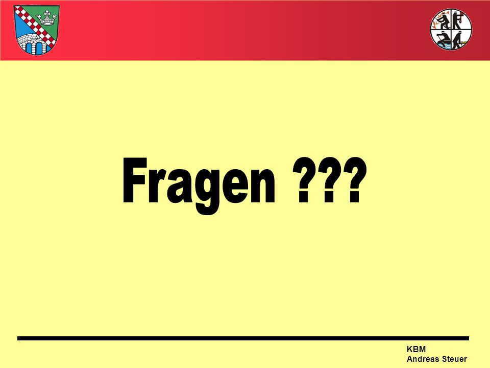 Fragen KBM Andreas Steuer