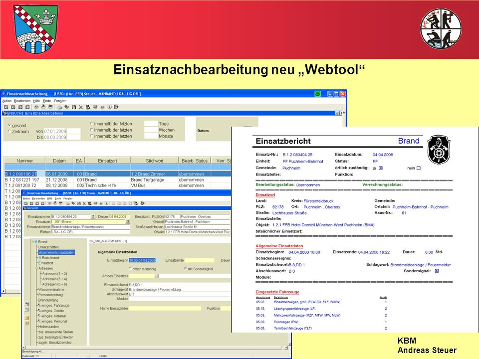 "Einsatznachbearbeitung neu ""Webtool"