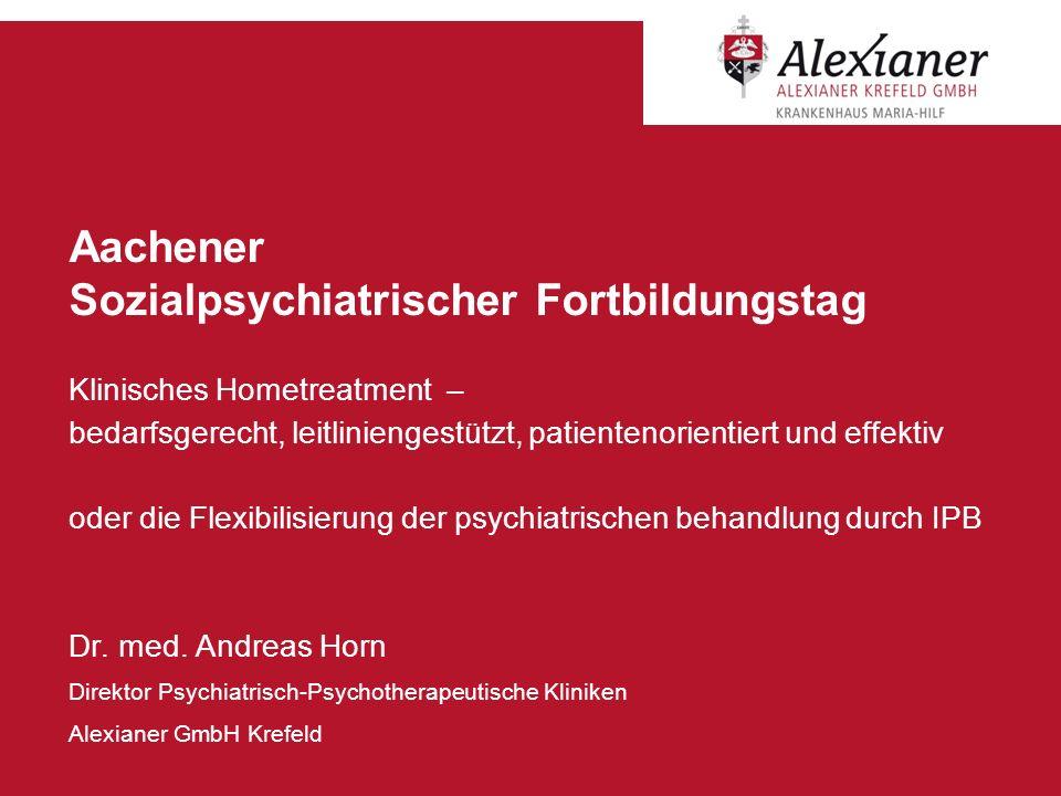 Aachener Sozialpsychiatrischer Fortbildungstag