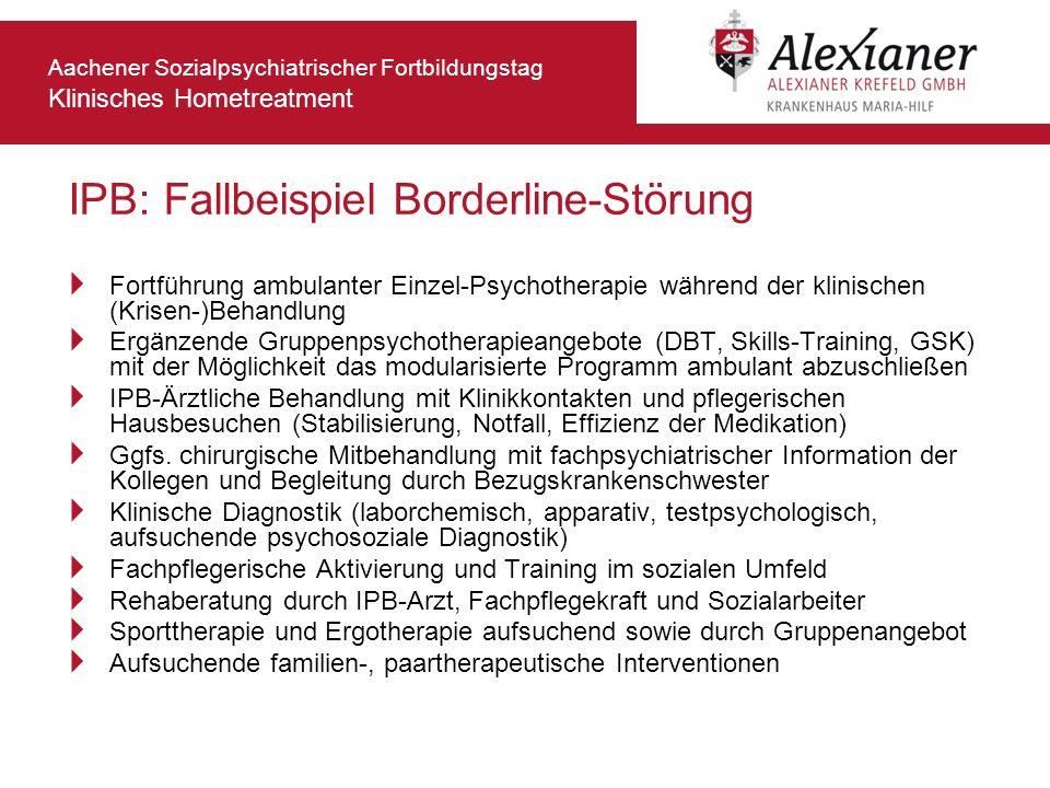 IPB: Fallbeispiel Borderline-Störung