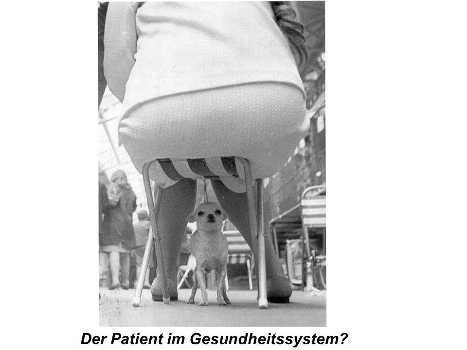 Der Patient im Gesundheitssystem