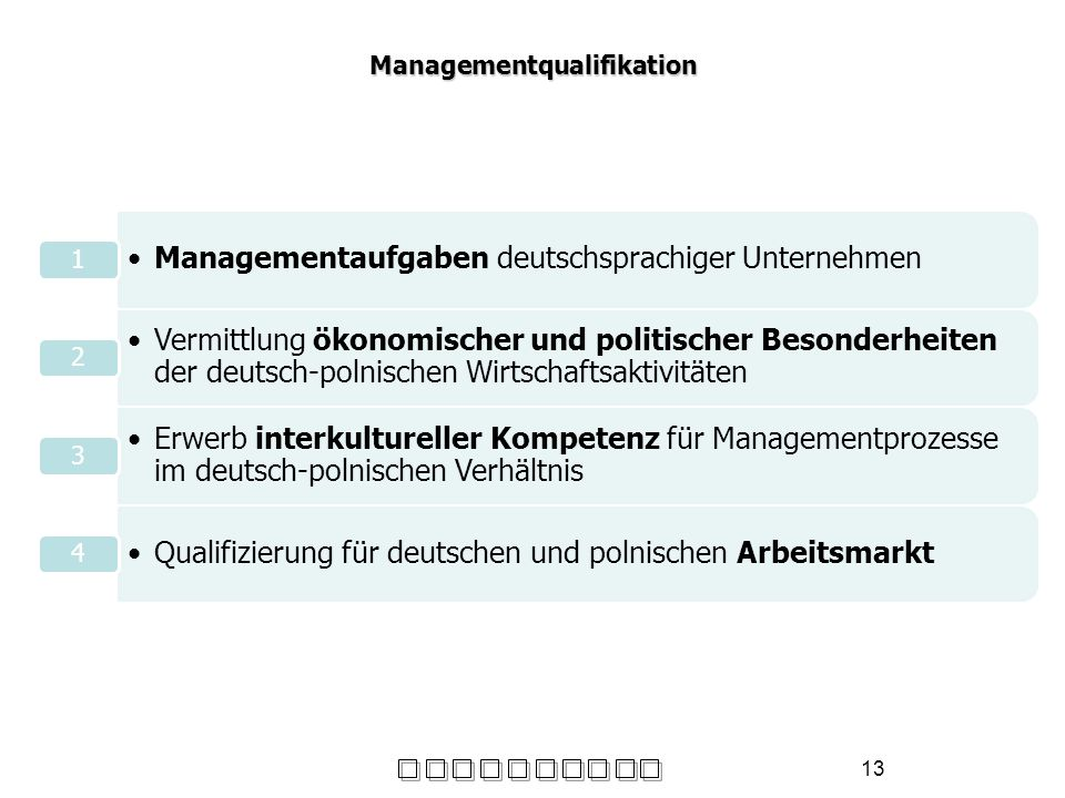 Managementqualifikation