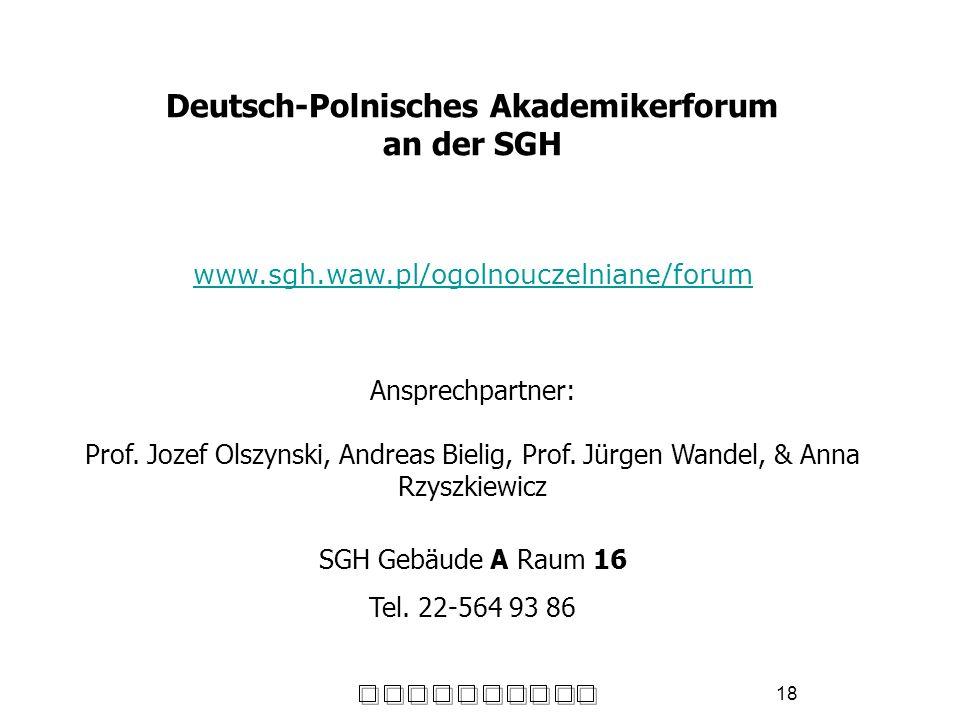 Deutsch-Polnisches Akademikerforum