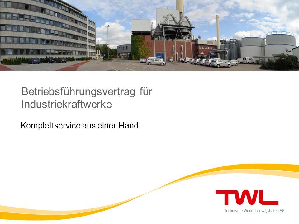 Betriebsführungsvertrag für Industriekraftwerke