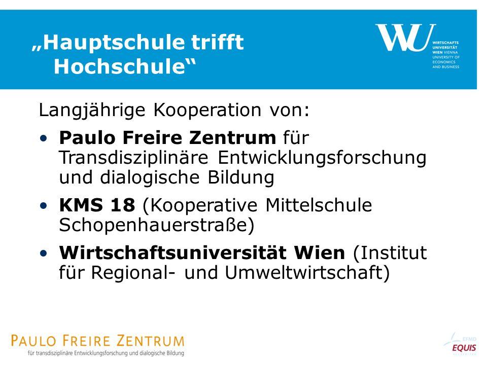 """""""Hauptschule trifft Hochschule"""