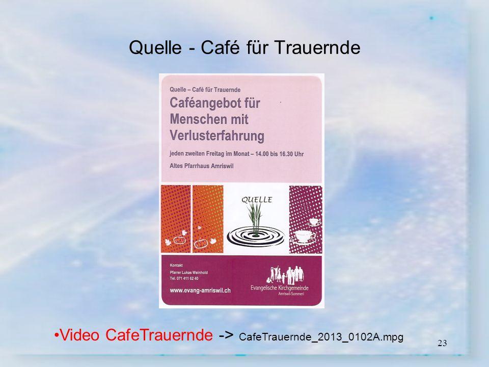 Quelle - Café für Trauernde