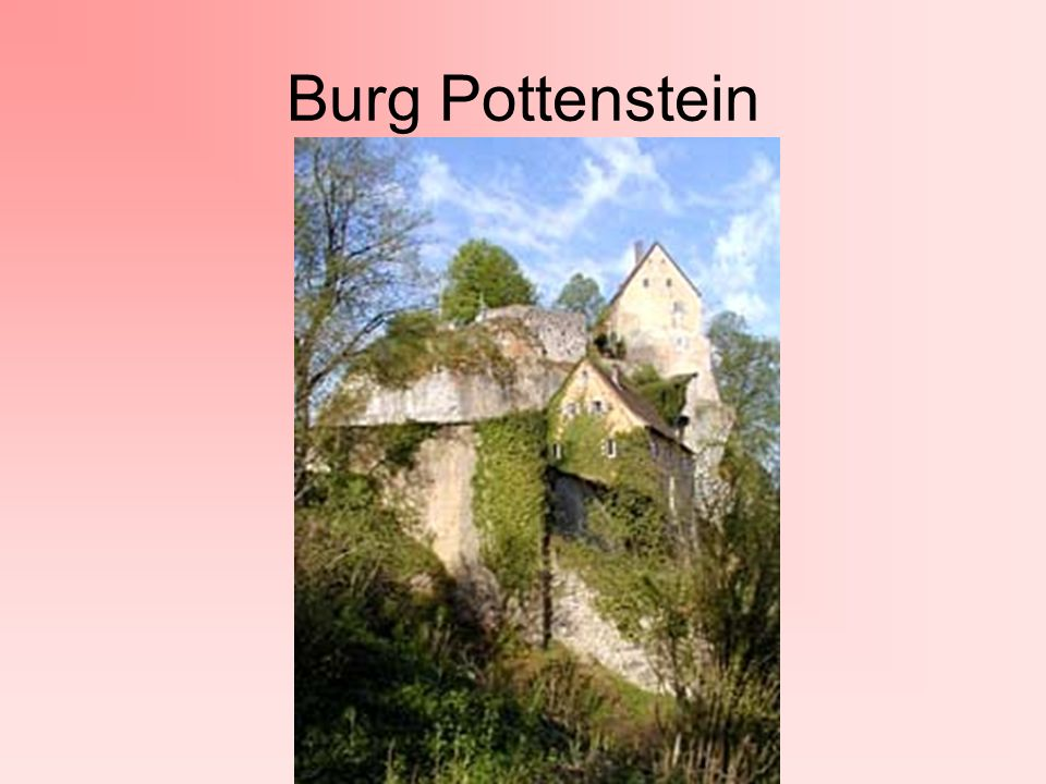 Burg Pottenstein