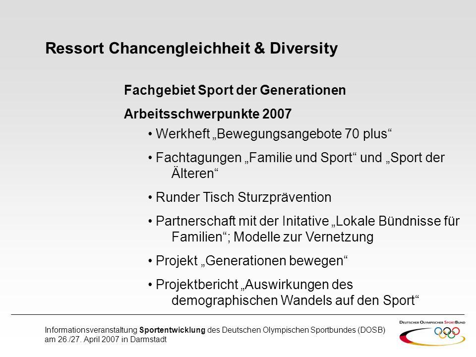 Ressort Chancengleichheit & Diversity