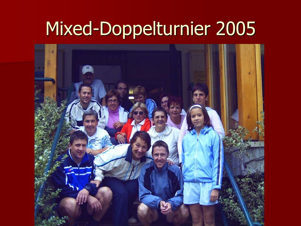 Mixed-Doppelturnier 2005