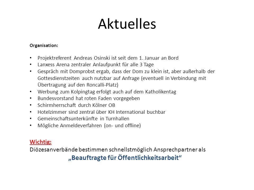 """""""Beauftragte für Öffentlichkeitsarbeit"""