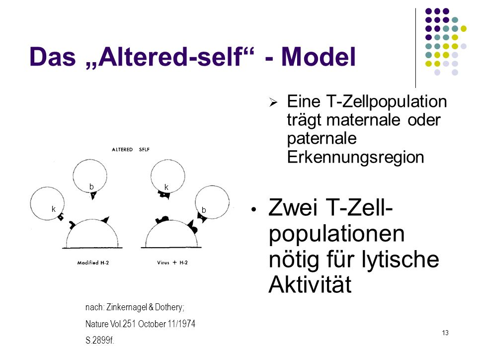 "Das ""Altered-self - Model"