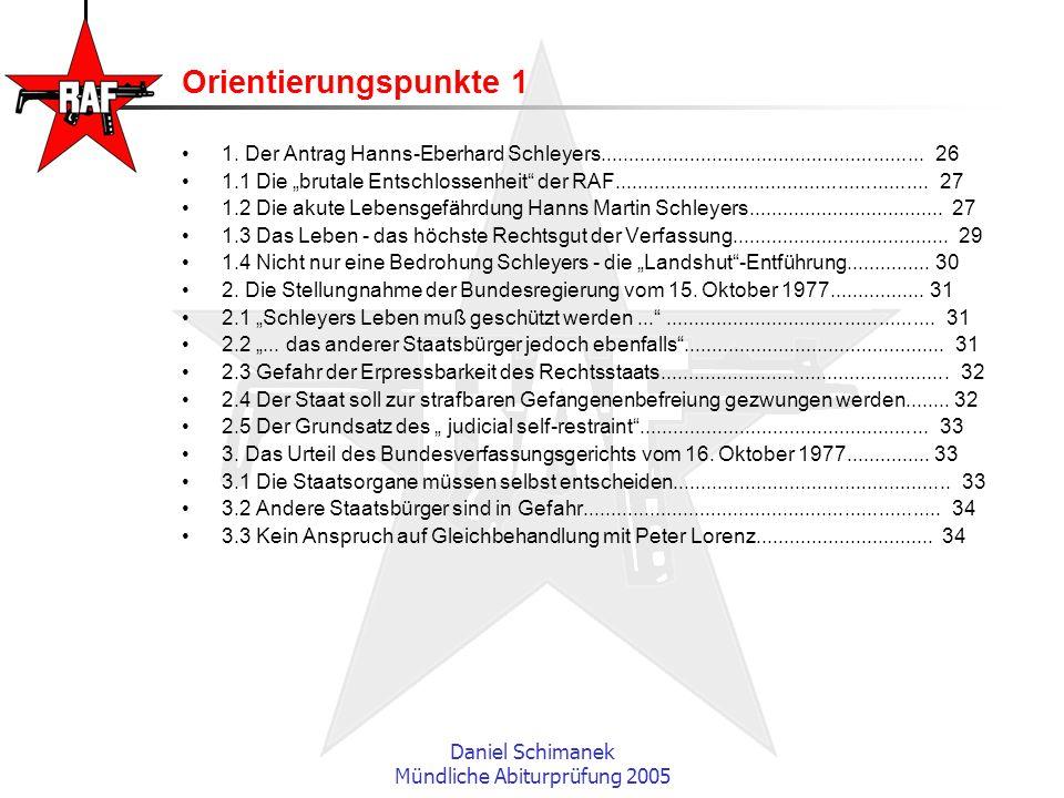 Mündliche Abiturprüfung 2005