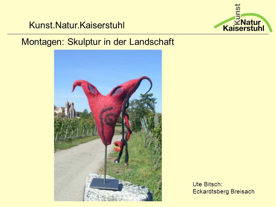 Montagen: Skulptur in der Landschaft