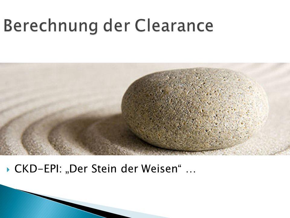 Berechnung der Clearance