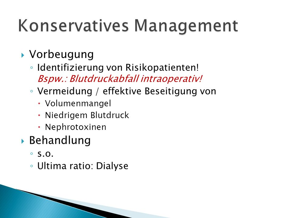 Konservatives Management