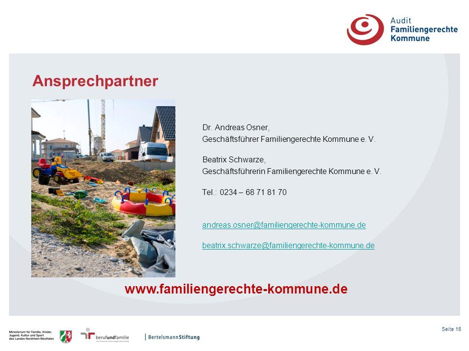 Ansprechpartner www.familiengerechte-kommune.de
