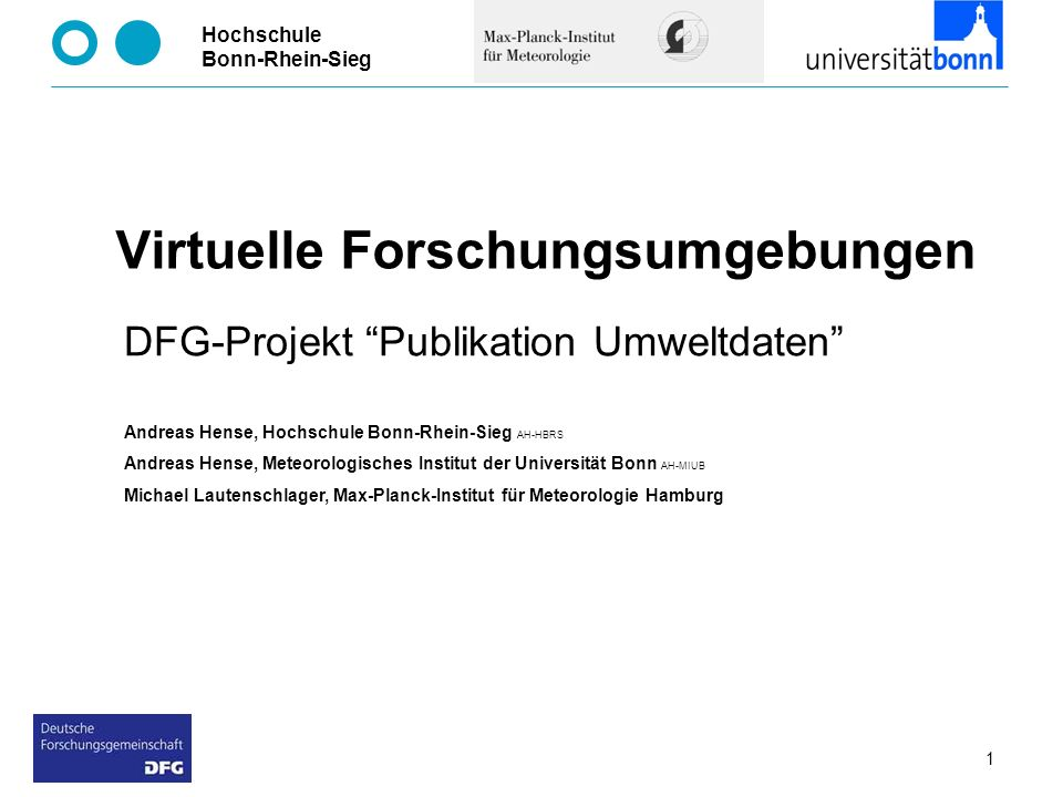 Virtuelle Forschungsumgebungen