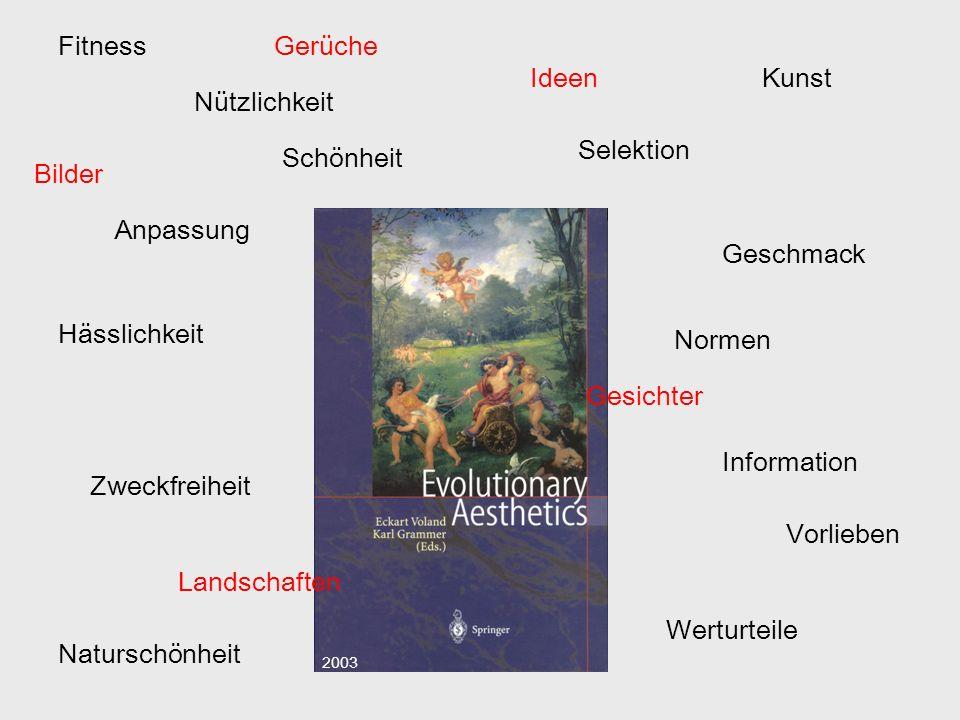 Fitness Gerüche Ideen Kunst Nützlichkeit Selektion Schönheit Bilder