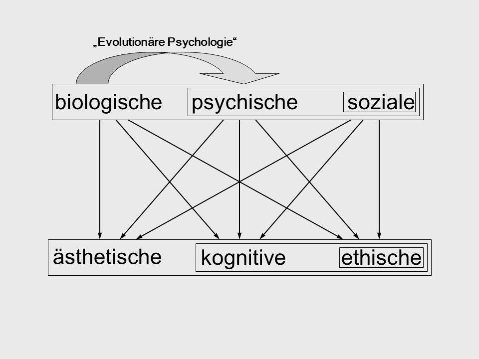 biologische psychische soziale ästhetische kognitive ethische