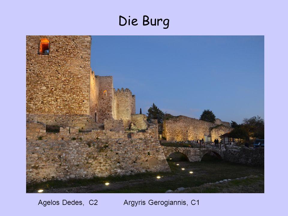 Die Burg Agelos Dedes, C2 Argyris Gerogiannis, C1
