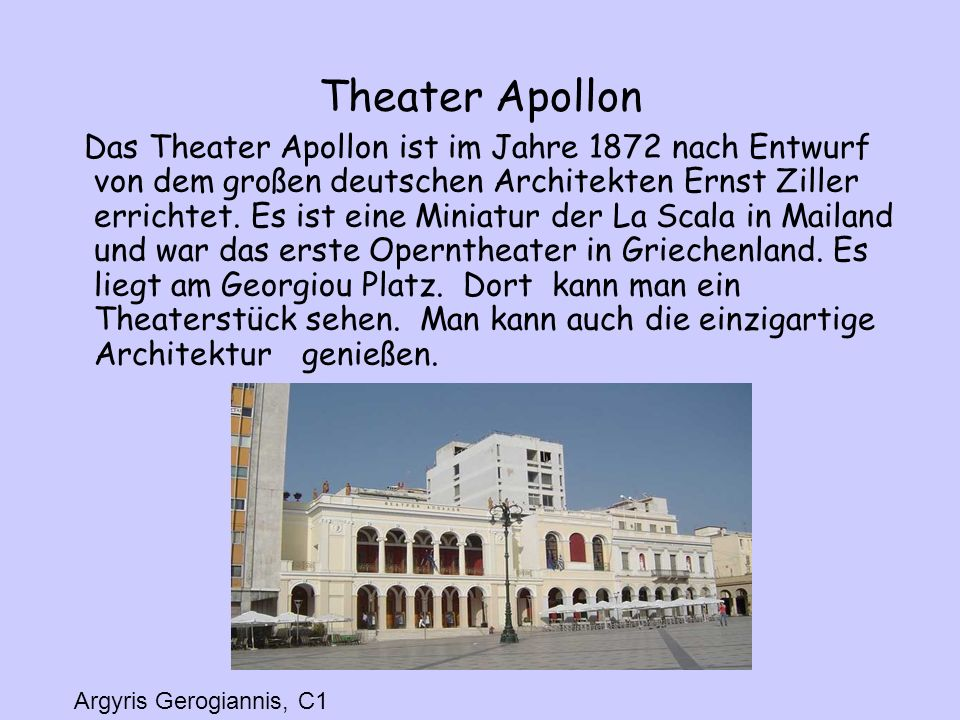 Theater Apollon