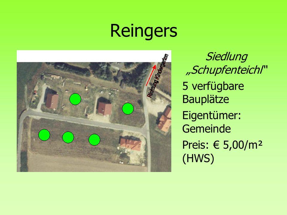 """Siedlung """"Schupfenteichl"""