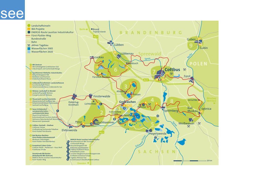 Des Weiteren besteht die Möglichkeit, die Region mit dem Fahrrad zu erkunden. Hier gibt es die verschiedensten Routen, vom Niederlausiter Kreisel bis hin zum Fürst-Pückler-Weg.