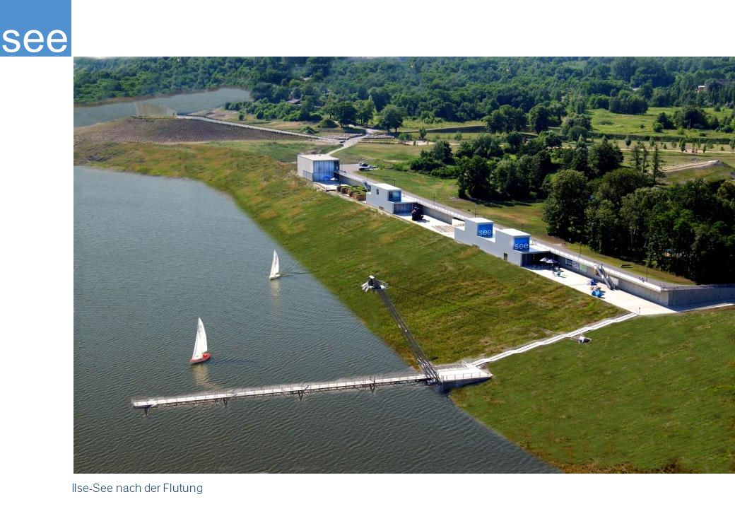 Auch hier sind die verschiedensten Projekte von der Anlegestelle bis hin zu Bademöglichkeiten geplant.
