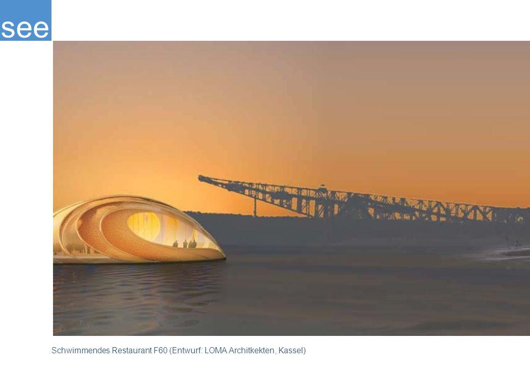Im September 2001 begann die Flutung des künftigen Bergheider Sees, der eine Größe von etwa 340 Hektar erreichen wird. Das Ostufer des Sees ist der touristischen Nutzung vorbehalten; das Westufer soll der Natur gehören. Architekten planten u. a. ein schwimmendes Restaurant.