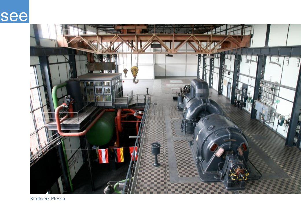 1992 erfolgte die Stilllegung des Kraftwerks