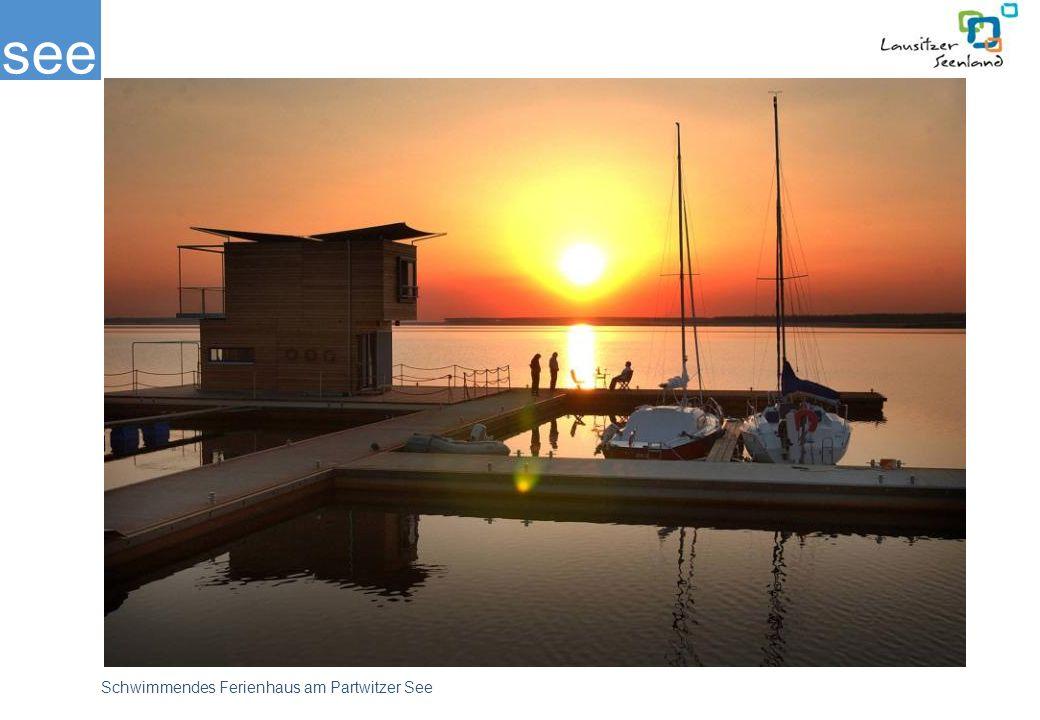Im Sommer 2006 wurde das erste schwimmende Ferienhaus am Partwitzer See und die schwimmende Tauchschule auf dem Gräbendorfer See eröffnet.
