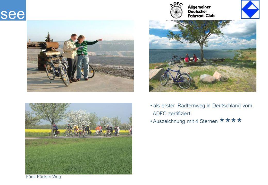 als erster Radfernweg in Deutschland vom ADFC zertifiziert.