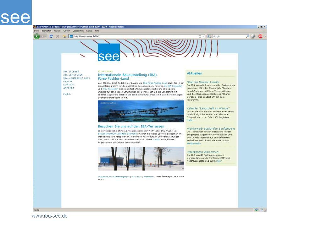 Auf der Seite www.iba-see.de erhalten Sie nähere Informationen.