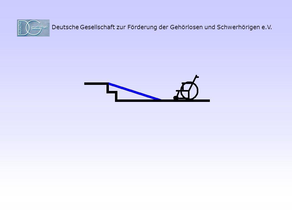 """""""Treppe und Rollstuhl"""