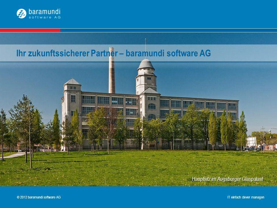 Ihr zukunftssicherer Partner – baramundi software AG
