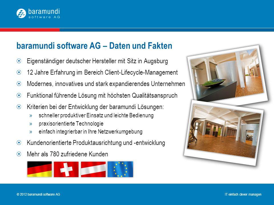 baramundi software AG – Daten und Fakten