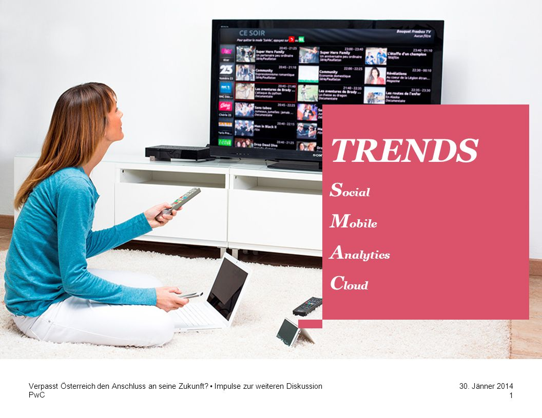 TRENDS Kapitel 1 Trends Social Mobile Analytics Cloud