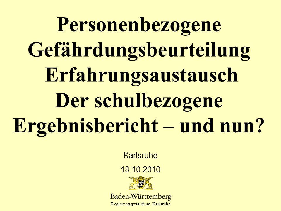 Titel des Vortrags Karlsruhe 18.10.2010