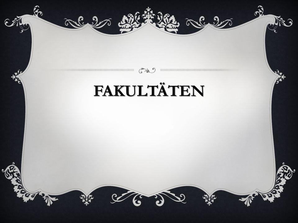 FAKULTÄTEN