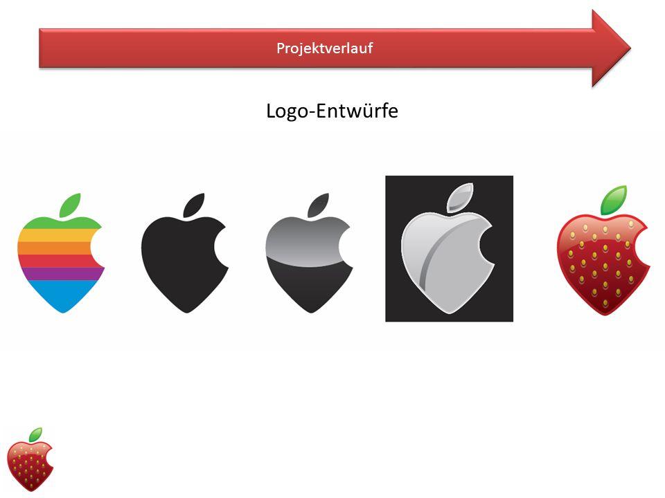 Projektverlauf Logo-Entwürfe
