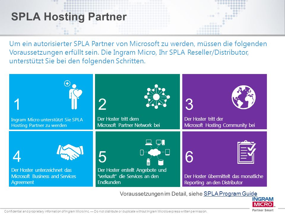 SPLA Hosting Partner