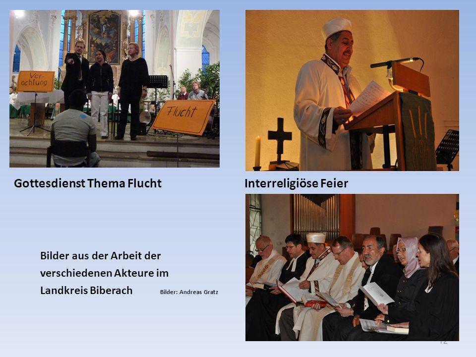 Gottesdienst Thema Flucht Interreligiöse Feier