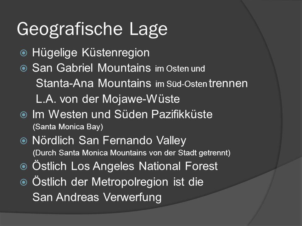 Geografische Lage Hügelige Küstenregion