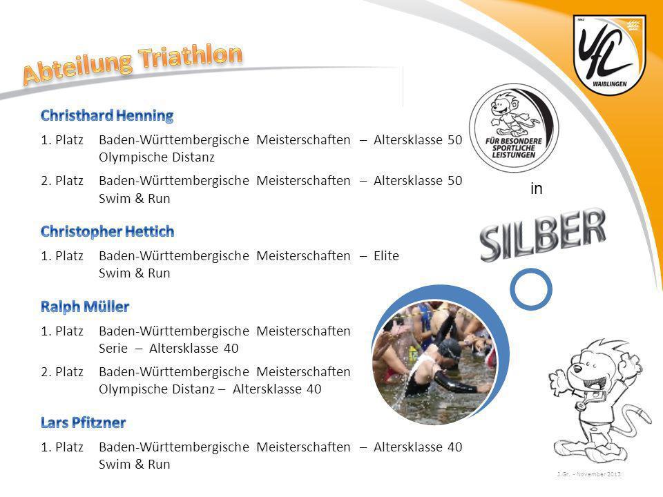 Abteilung Triathlon Christhard Henning Christopher Hettich in