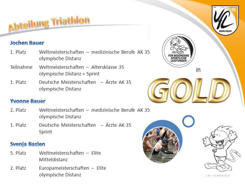 Abteilung Triathlon Jochen Bauer Yvonne Bauer in Svenja Bazlen