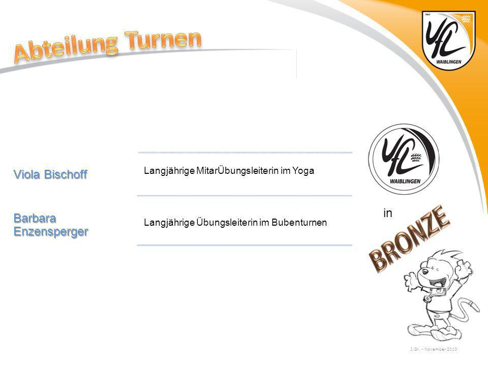 Abteilung Turnen Viola Bischoff Barbara Enzensperger in