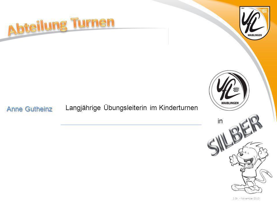 Abteilung Turnen Anne Gutheinz