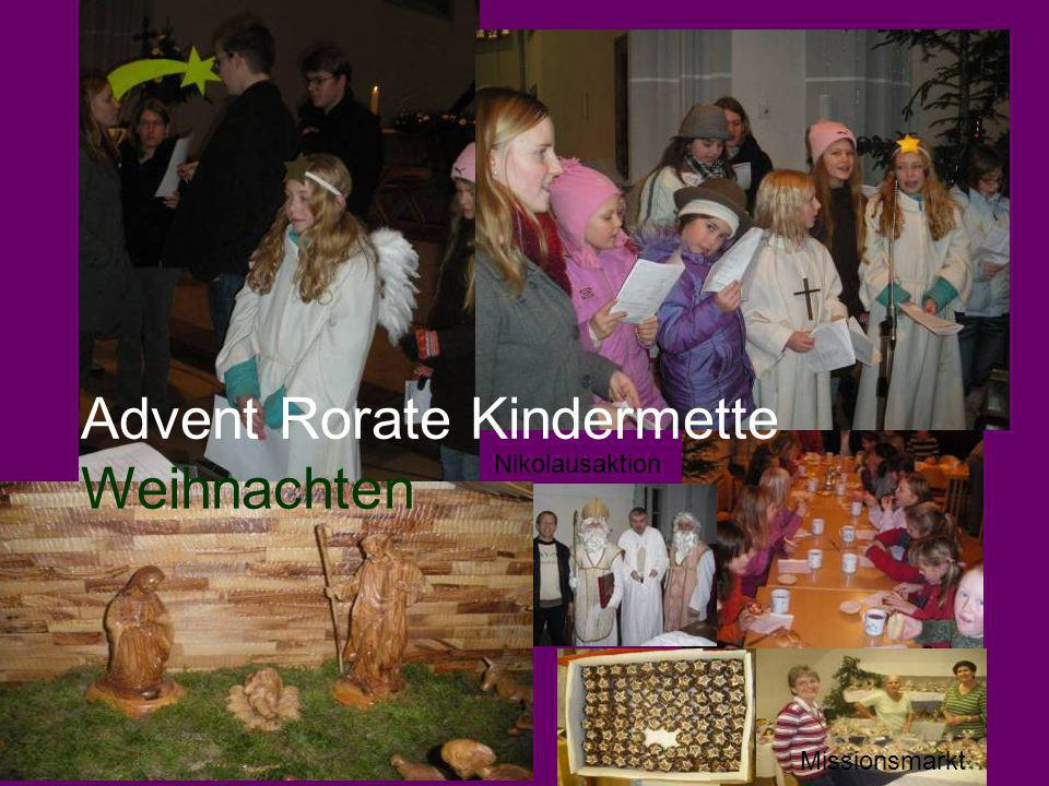 Advent Rorate Kindermette Weihnachten