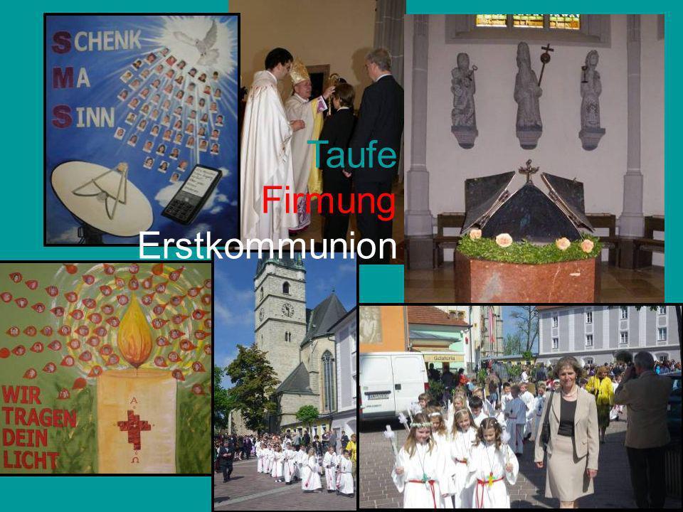 Taufe Firmung Erstkommunion